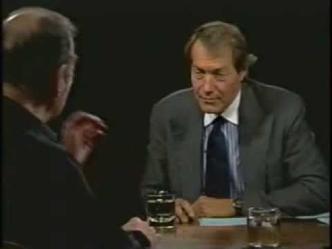 Harold Pinter on the Charlie Rose Show: July 19th 2001 (Part One)