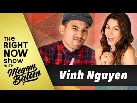 Vinh Nguyen of Kinjaz on The Right Now Show