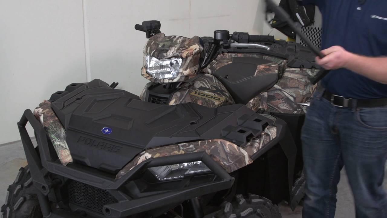 "Sportsman® Ultimate Series   4"" Front Rack Extender Install   1000/850SP/850"