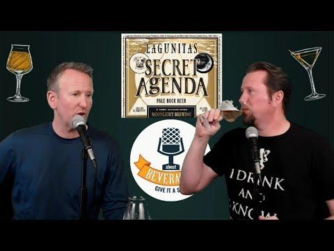 Lagunitas One Hitter Series Secret Agenda Pale Bock Beer