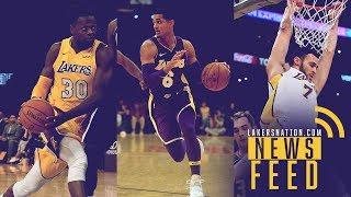 LN News Feed: L.A. Preparing BIG Moves With Jordan Clarkson, Julius Randle & Larry Nance Jr.
