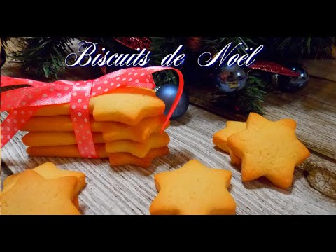 biscuits-de-noël---sablés-au-beurre---famous-french-christmas-cookies-very-easy---recette-de-noël-#2