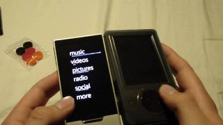 Unboxing: Zune HD (32 GB)