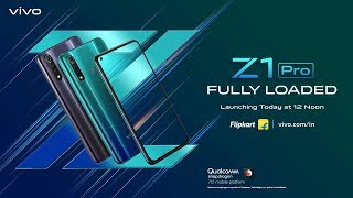 The #FullyLoaded #vivoZ1Pro is here | Watch Live Webcast