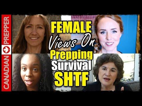 Female Preppers: Men & Womens Roles in Survival/SHTF (Part 1) | Canadian Prepper