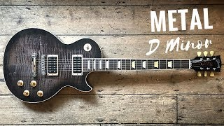 Wild Melodic Metal | Guitar Backing Track Jam in Dm