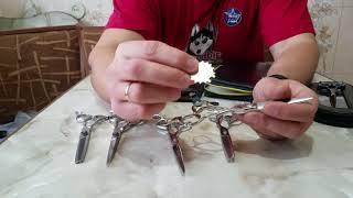 видео Ножницы для стрижки волос
