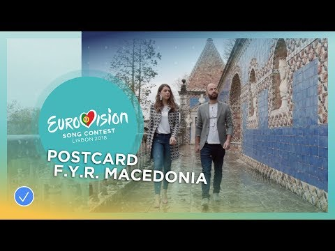 Postcard of Eye Cue from F.Y.R. Macedonia - Eurovision 2018