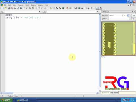 tutorial for first time bascom avr users just to show how it work rh curvetube com