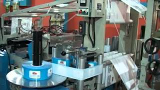Automatic High Speed 3 Side Seal Zipper & Stand-up Pouch Making Machine