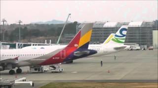 2014.3.19 日本には今季が初飛来となるスカイウイングス・アジア航空が...
