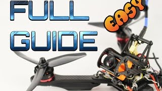 ImpulseRC Helix build guide. How to-EASY Step by step DIY Helix drone build tutorial