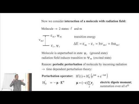 """(9) Felix Tuczek, """"Optical Absorption Spectroscopy and MCD Spectroscopy"""""""