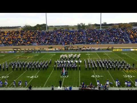 Pride of the Dakotas Marching Band Pre-Game Show