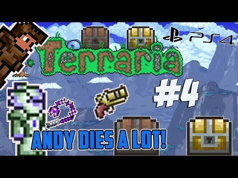 Terraria Ps4 - Andy Dies A Lot [4]