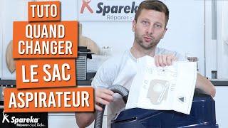 Comment choisir et quand changer son sac d'aspirateur