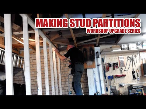 Upgrading My Workshop - Building Stud Partition Walls (Part 1) [25]