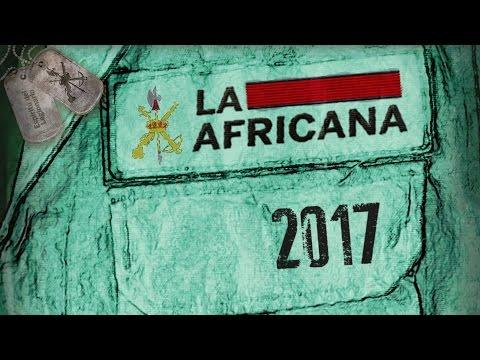 LA AFRICANA 2017 · V Carrera de la Legión