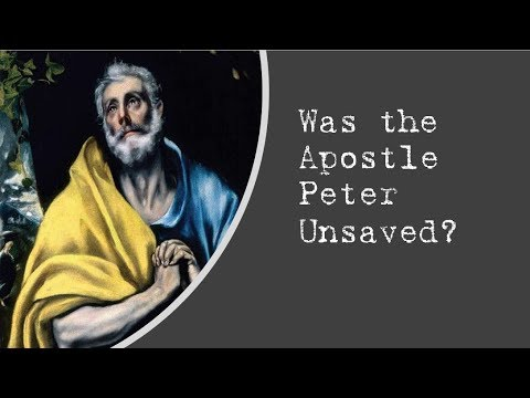 Pure Word Ministries Says Peter is Lost?
