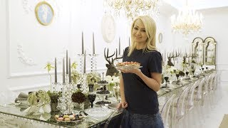 Яна Рудковская готовит предновогодний завтрак с BORK