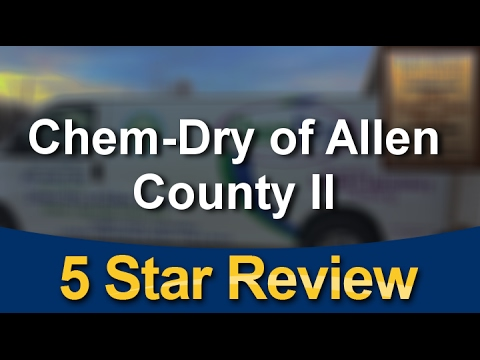 Chem-Dry of Allen County II Angola Amazing Five Star Review by Tln .D