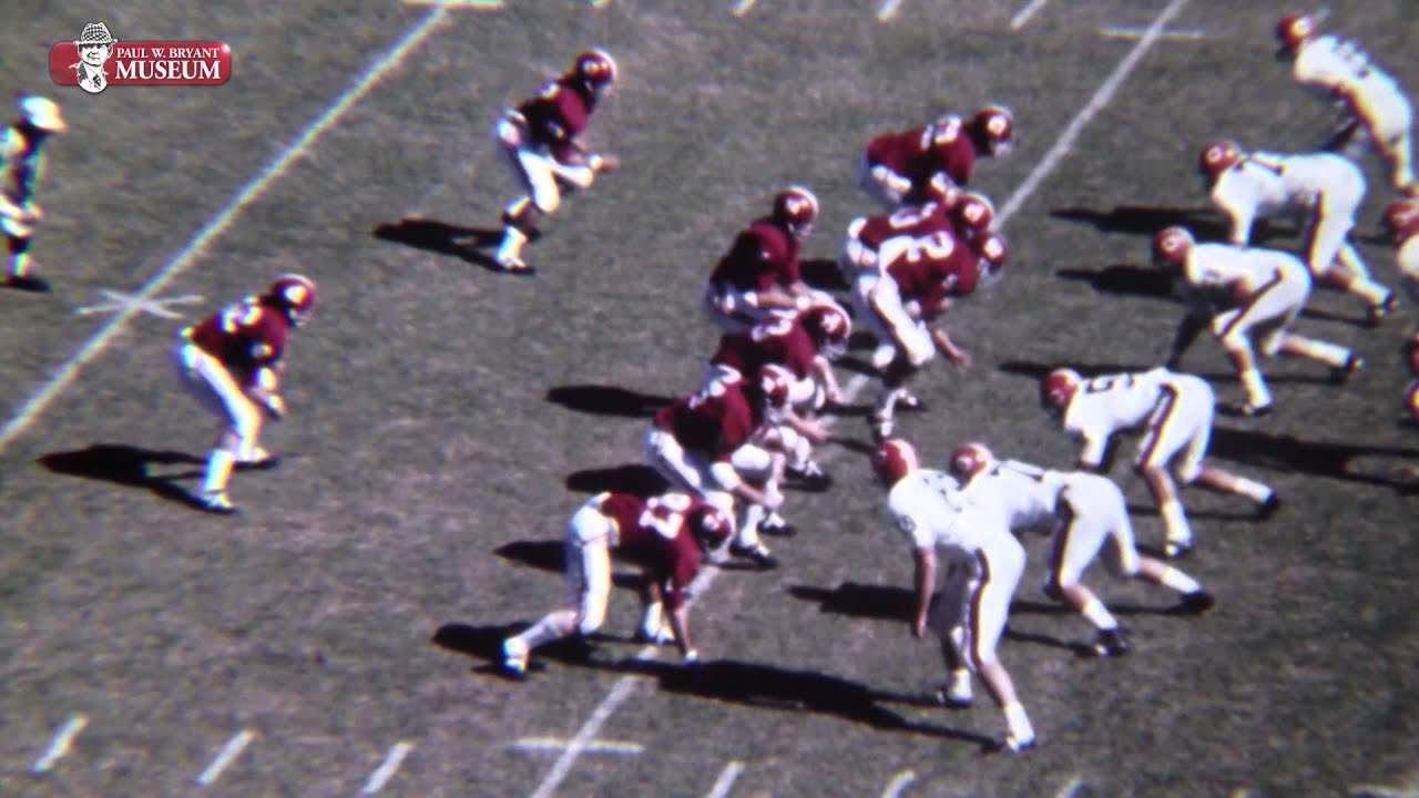 Miami Vs Clemson 2016 >> 1968 Alabama vs. Clemson Highlights with narration by Coach Bryant - YouTube