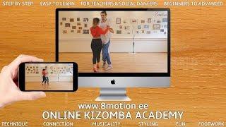 👣 Kizomba Class Vol. 3 - Intermediate - Contra tempos \u0026 Crosses - Nemanja \u0026 Carolin