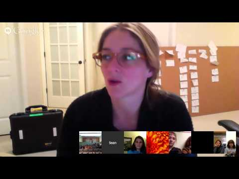 Inocente: Live Google Hangout on Air