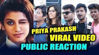 Priya Prakash VIRAL VIDEO | Public Reaction By MUMBAI BOYS | CRAZY Reaction