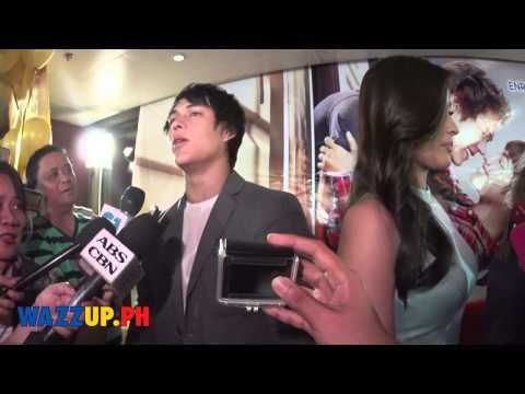 Part 13  - Just The Way You Are Movie Grand Presscon Liza Soberano Enrique Gil 1 on 1 Interviews