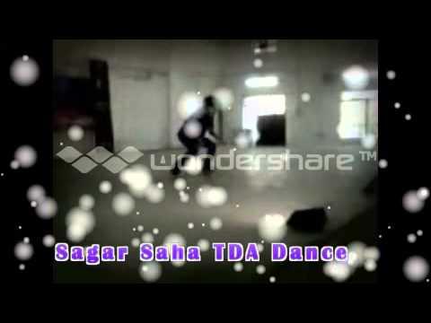 ( sagar saha ) Abia mujh mein kahia robotic dance hd