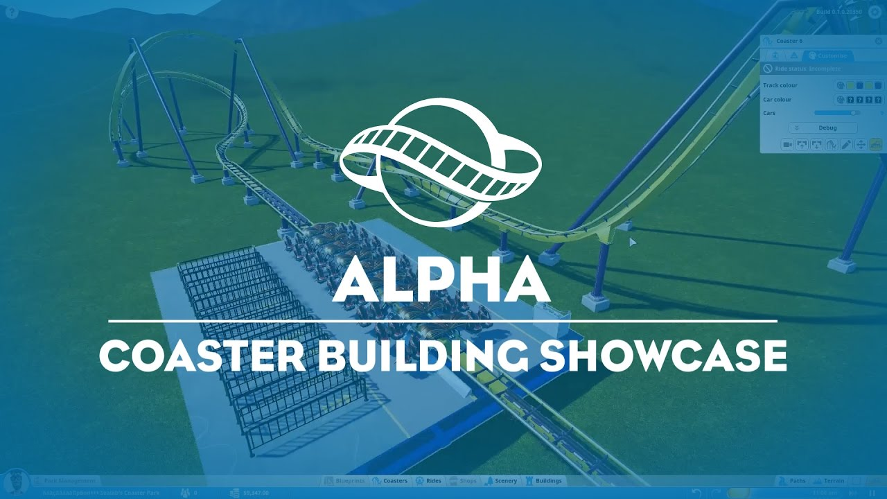 Coaster builder showcase youtube coaster builder showcase malvernweather