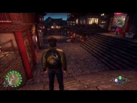 Shenmue III Blue Spiders Get Clobbered |