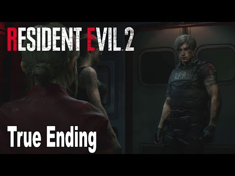 Resident Evil 2 Remake - True Ending and Credits [HD 1080P]