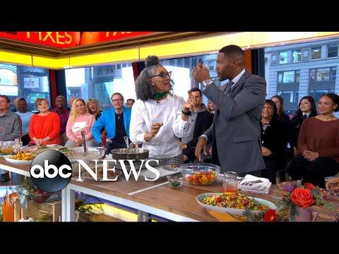Carla Hall shares seasonal fall recipes live on 'GMA'