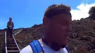 The GOAT Mountain RUN Rhuapahu VOLCANO NEW ZEALAND