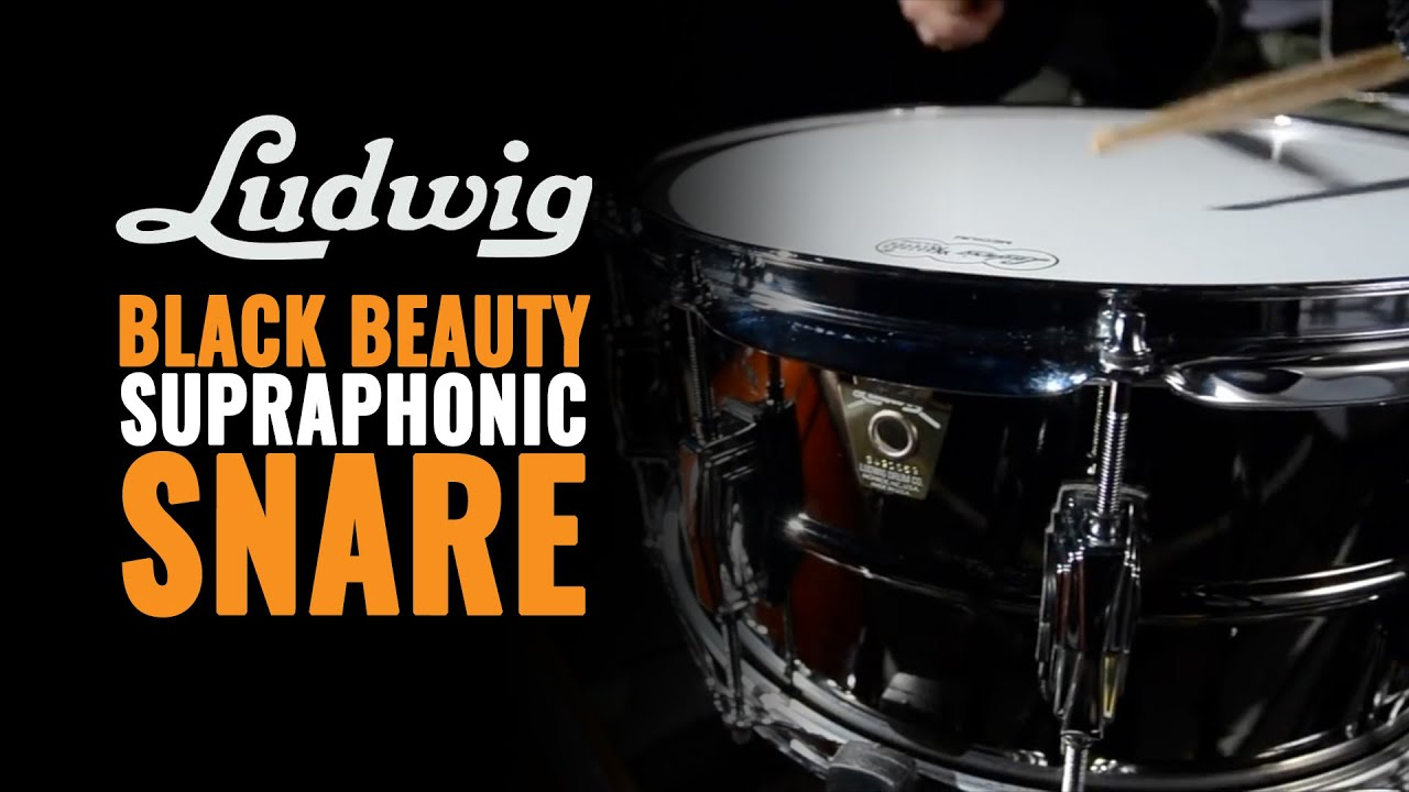 ludwig black beauty snare review