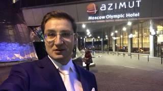 Азимут Олимпик Москва. Зал «Волга», проведение делового мероприятия