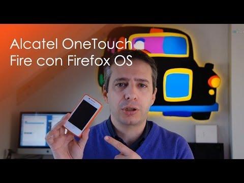 Alcatel OneTouch Fire con Firefox OS la videoprove di HDblog.it