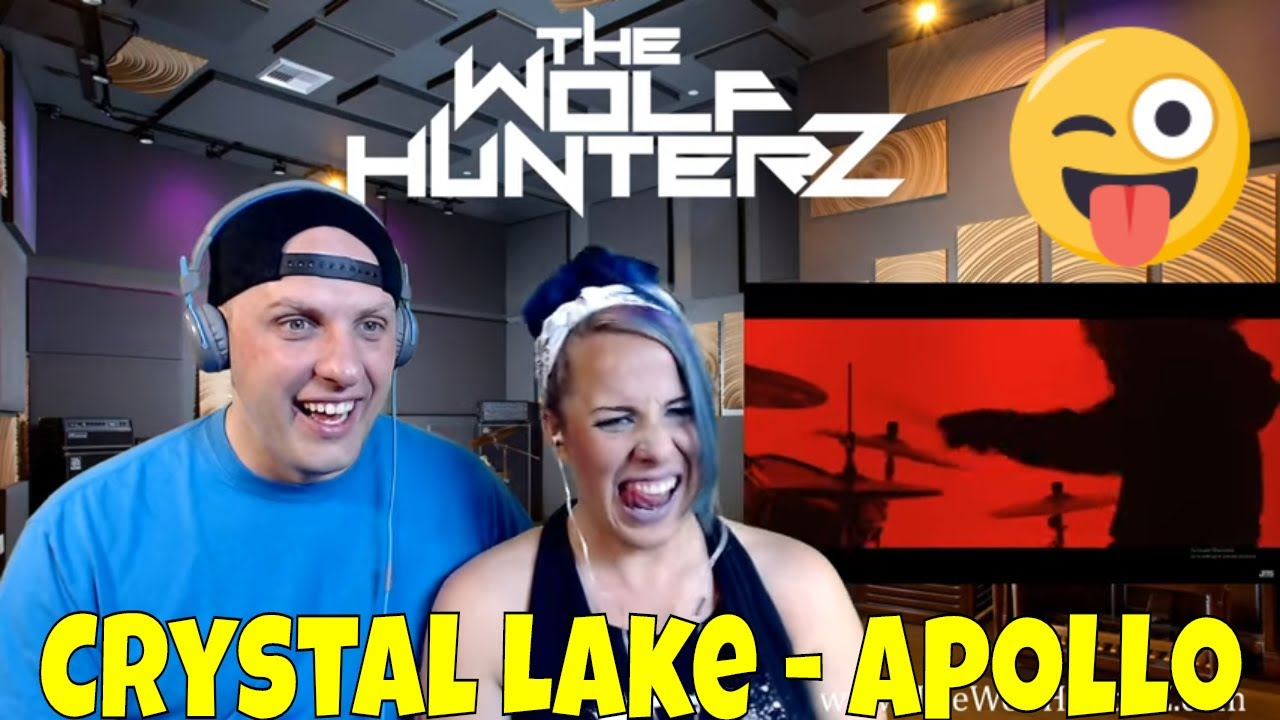 Crystal Lake Apollo Official Music Video The Wolf Hunterz Reactions Youtube