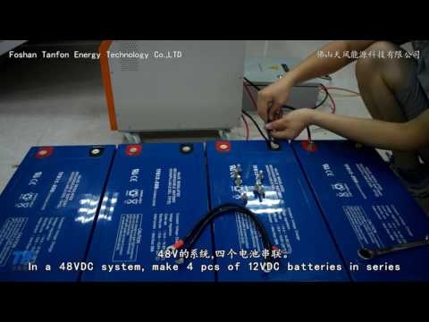Foshan Tanfon 3KW Off Grid Solar System Installation Demonstration