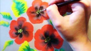 КАК научиться РИСОВАТЬ. Очень красивые маки(КАК научить РЕБЁНКА РИСОВАТЬ http://master.paint.e-autopay.com/ РИСОВАНИЕ для самых МАЛЕНЬКИХ http://baby.master.paint.e-autopay.com/ Как..., 2012-12-17T23:54:05.000Z)
