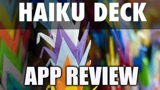 Haiku Deck iPad App Review