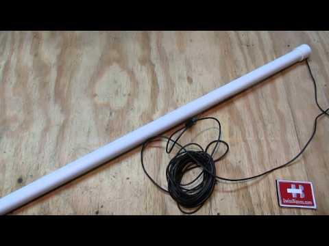 stick shortwave radio antenna - nice covert antenna solution