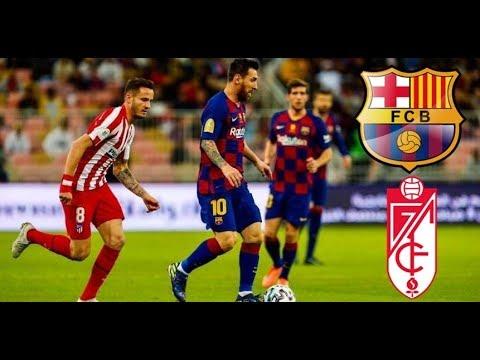 مباراة برشلونة وغرناطة بث مباشر مباريات اليوم 19-01-2020 الدوري الاسباني Kora Live
