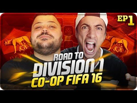 IL GRANDE RITORNO !!! FIFA 16 RTD1 CO-OP w/Sodin