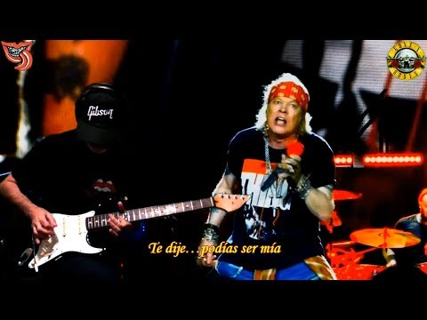 You Could Be Mine Guns N' Roses  subtitulada Terminator 2017 RollingBilbao cover HD