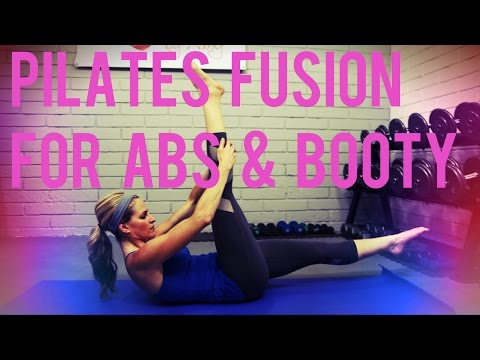 25 Minute Pilates Fusion For Abs & Booty