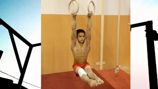 Andrey hard training