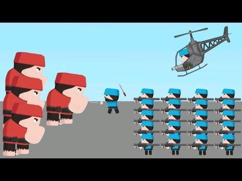 Clone Armies - Gameplay Walkthrough Part 19 - Corridor Skin Fight Arena (iOS, Android)